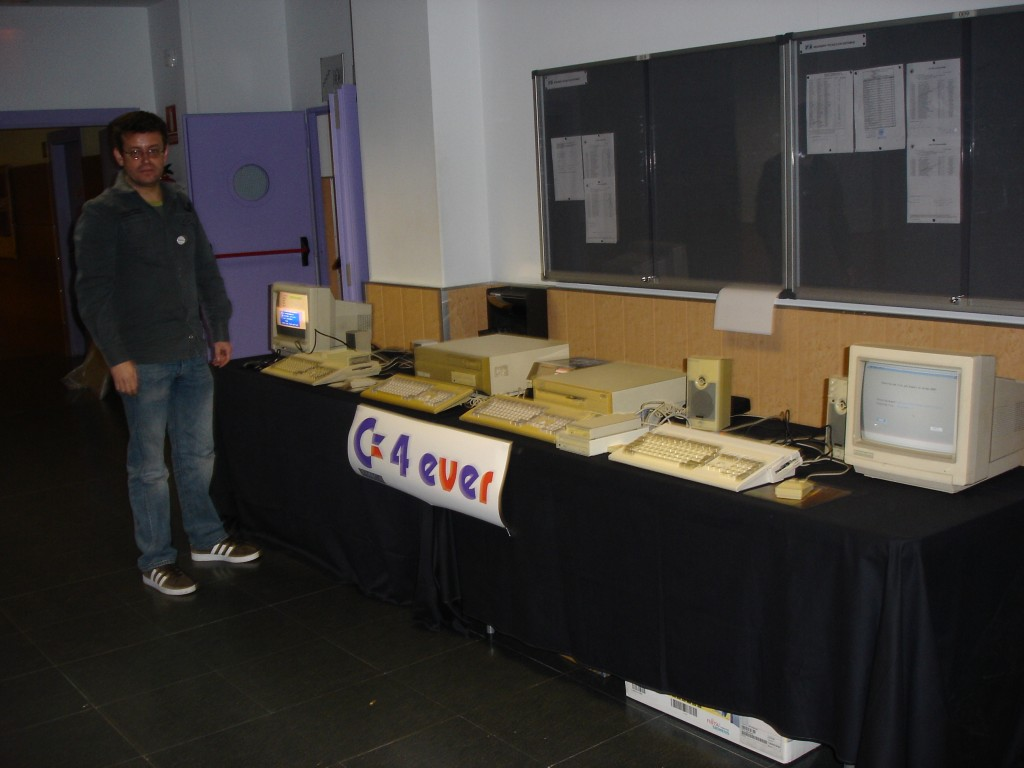 Stand Commodore4ever Retromadrid 2010