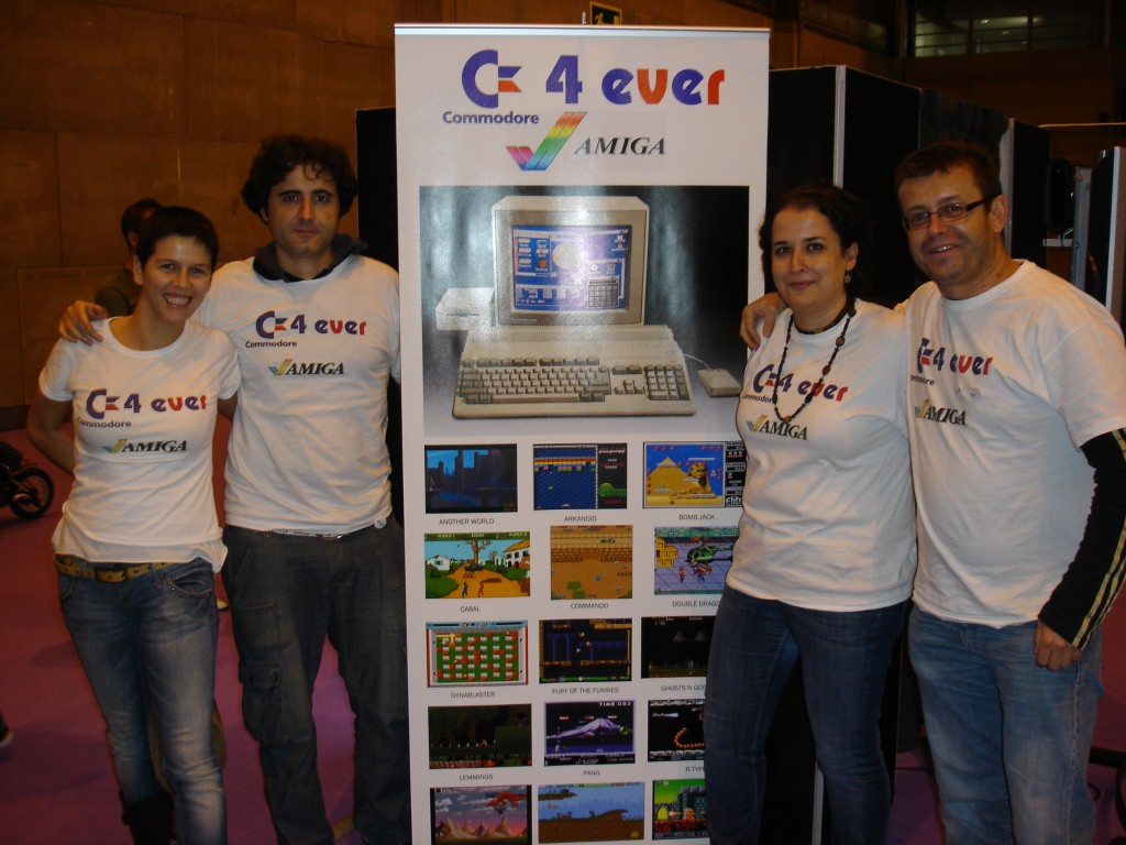 El equipo Commodore4ever