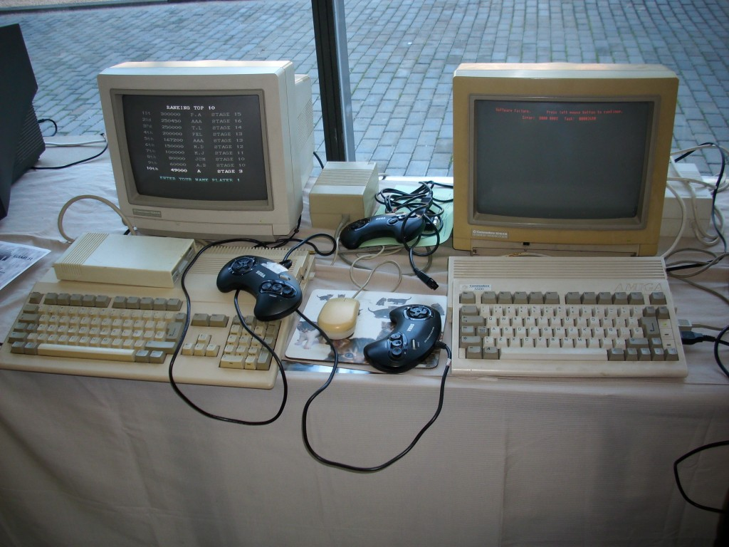 Amiga 500 y Amiga 600