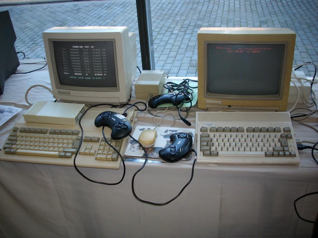 Amiga 500 y Amiga 600