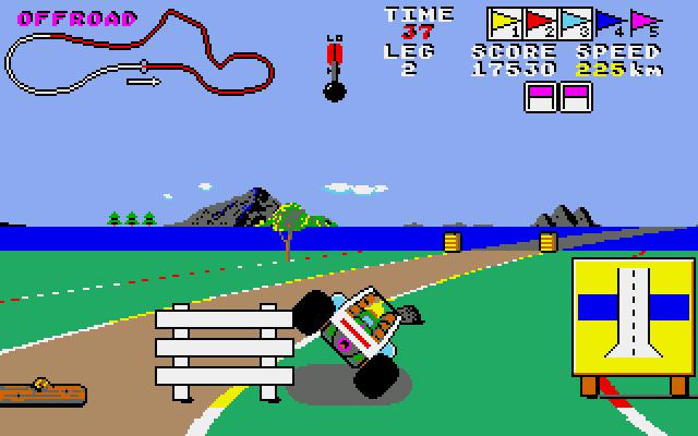 Buggy Boy 2 - Videojuegos de coches