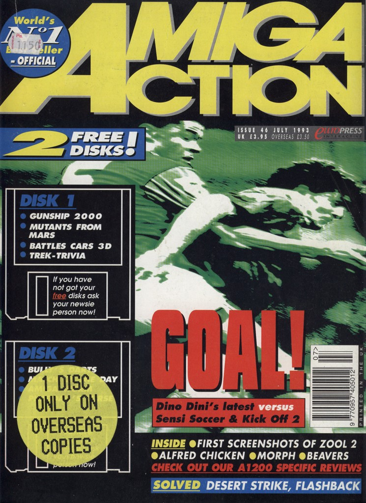 Amiga Action - July 1993