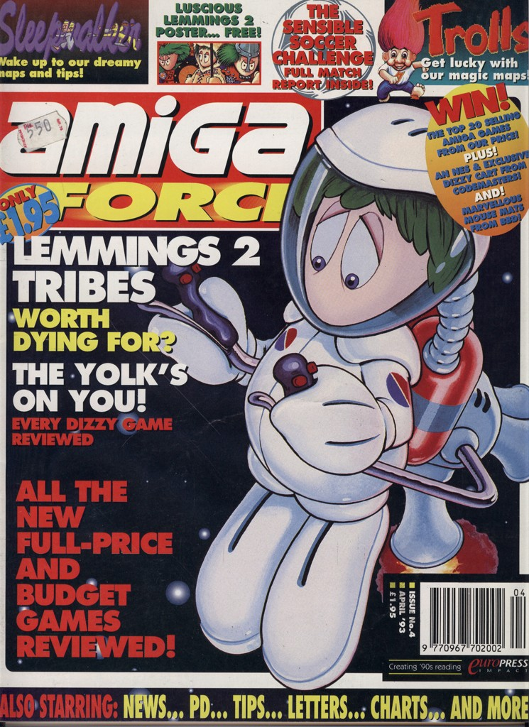 Amiga Force - April 1993