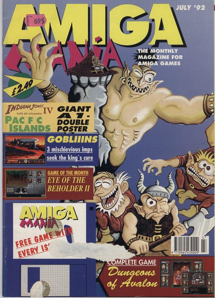 Amiga Mania - July 1992