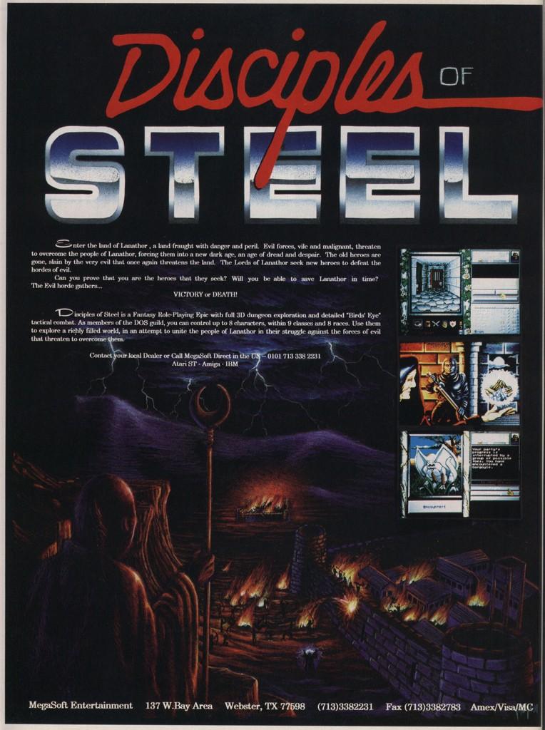 Disciples of Steel
