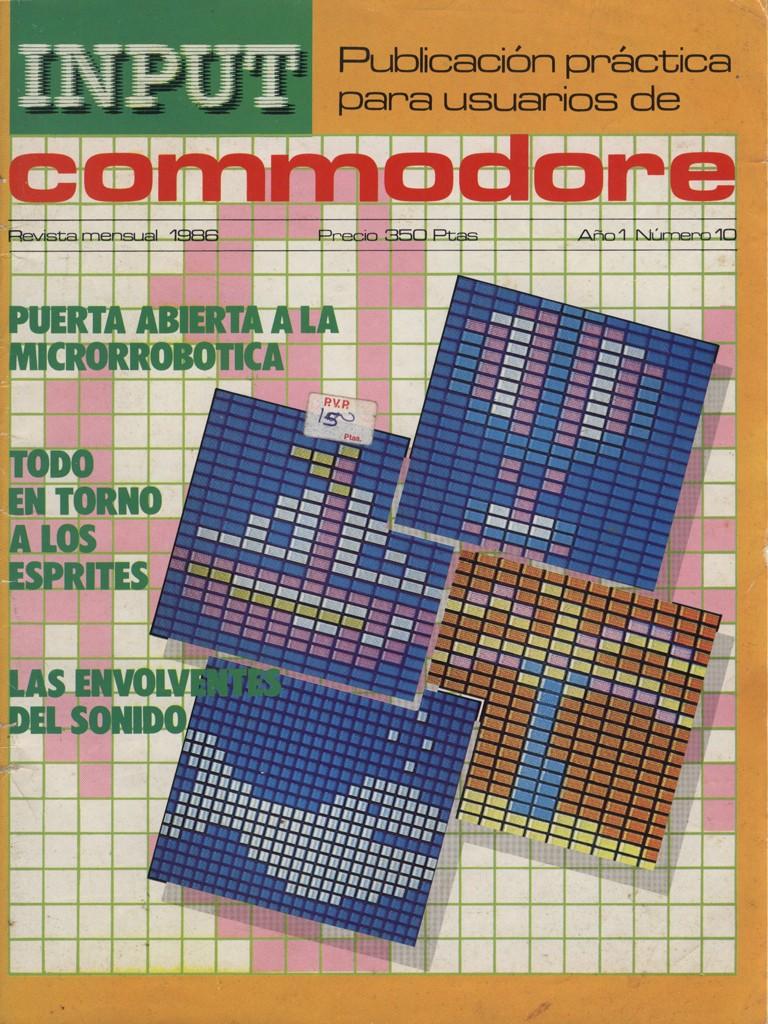 Input Commodore - 1986 - Año 1 Numero 10