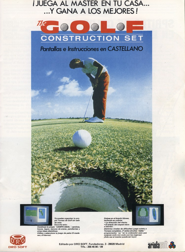 The Golf Construction Set - 1986 - Commodore 64