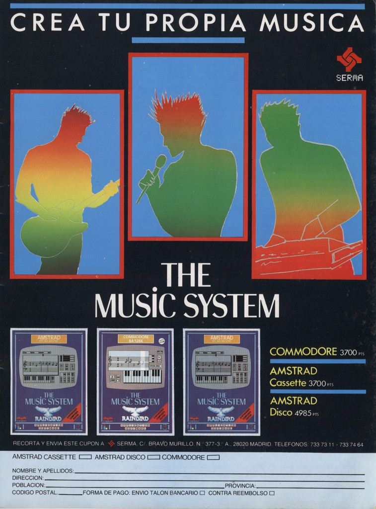 The Music Machine - 1986 - Commodore 64