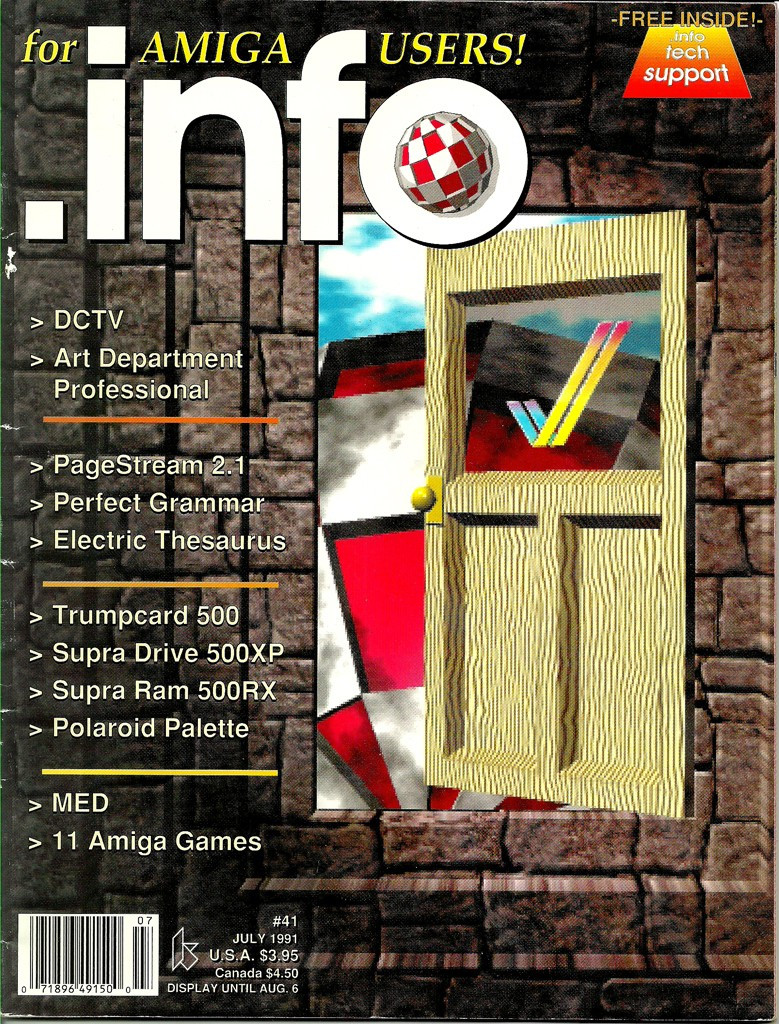 Amiga INFO - July 1991