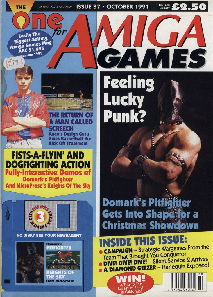 The One for Amiga Games - October 1991