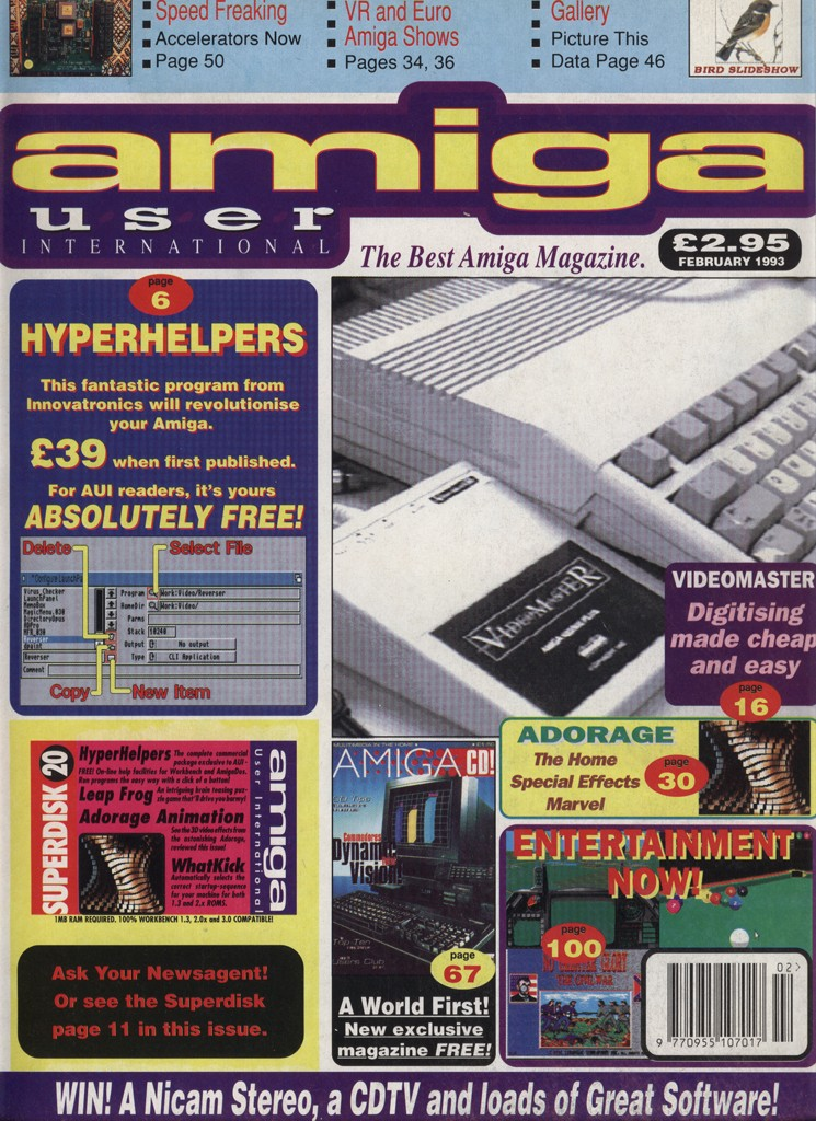 Amiga User International - February 1993