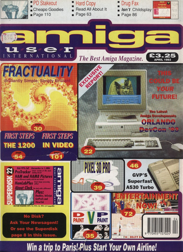 Amiga User International - April 1993
