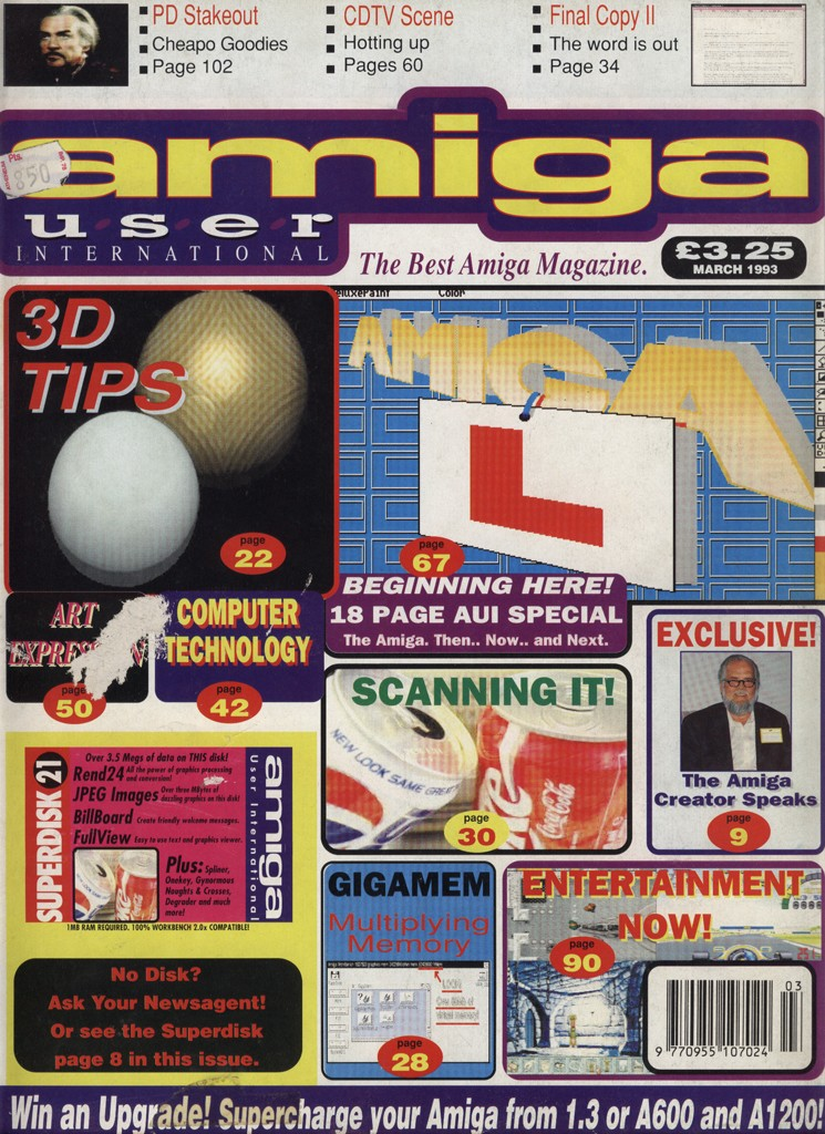 Amiga User International - Marzo 1993