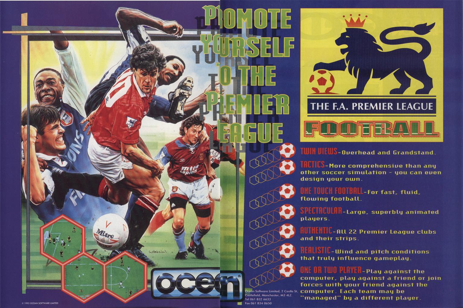 FA Premier League Football