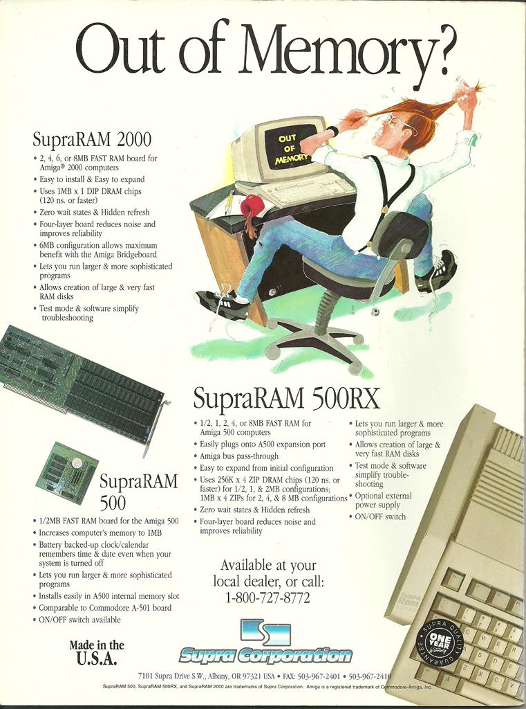 SUPRA RAM