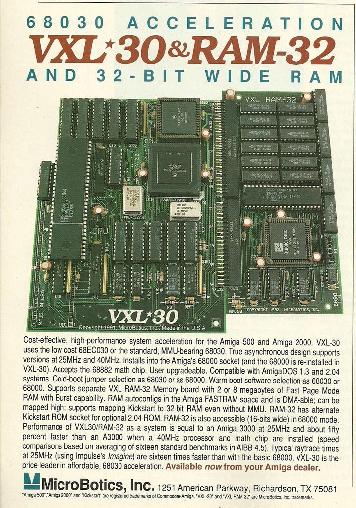VXL 30