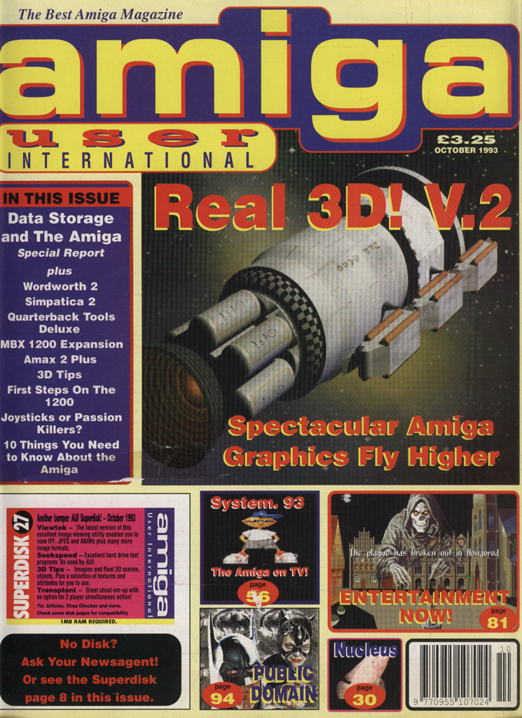 Amiga User International - October 1993
