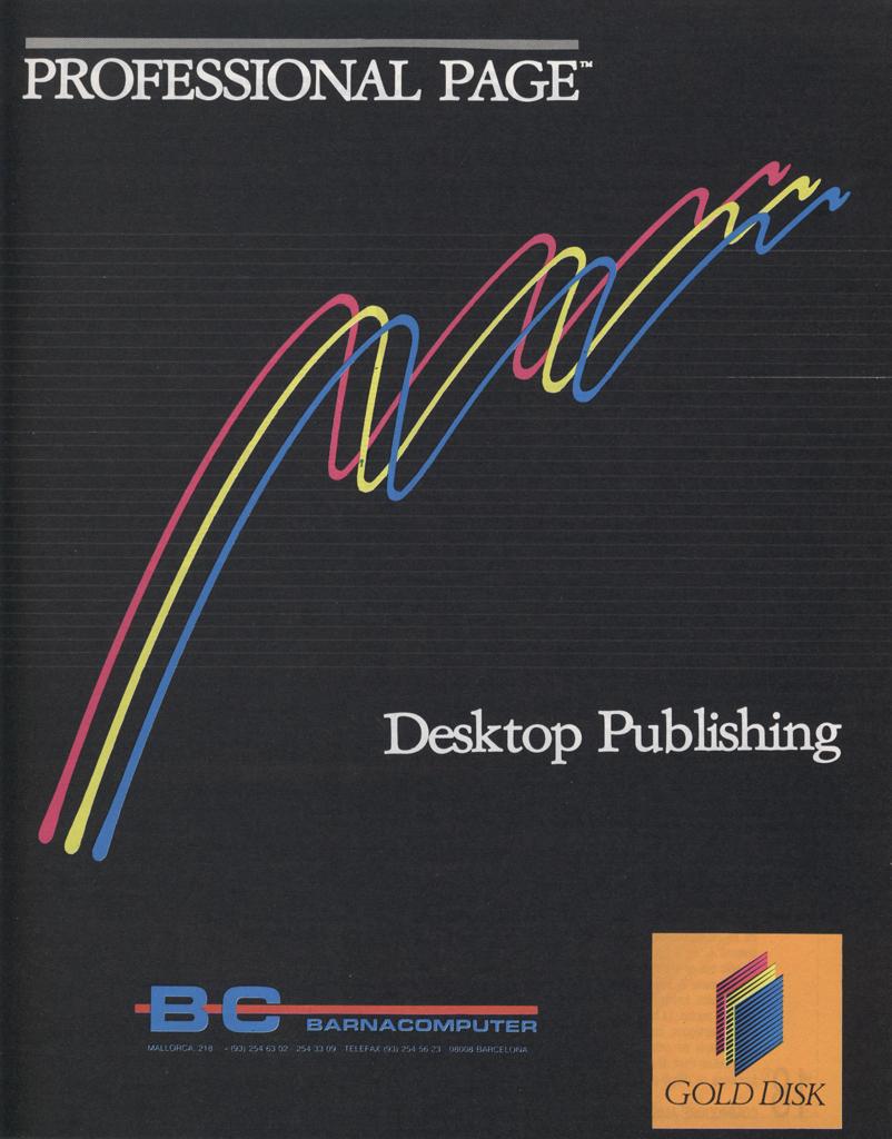BarnaComputer - Professional Page - June 1989
